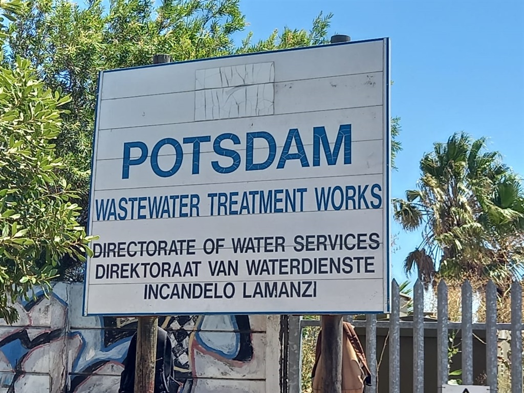 Potsdam waste water treatment plant.