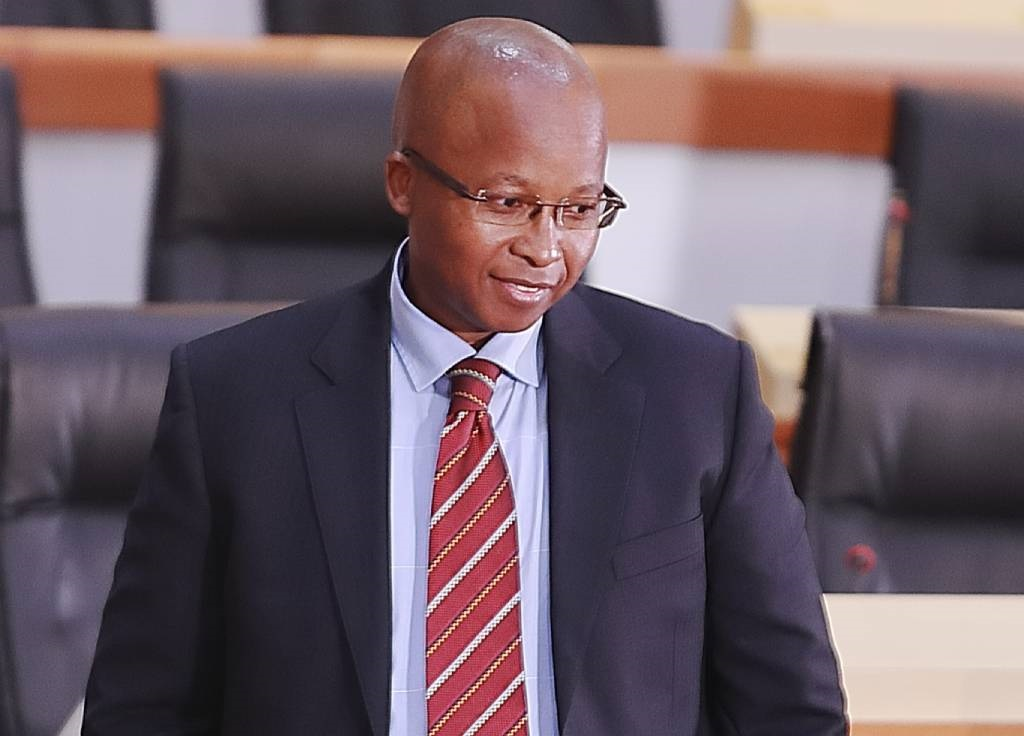 Acting Director General at the State Security Agency (SSA), Loyiso Jafta testifies at the Commission of Inquiry.