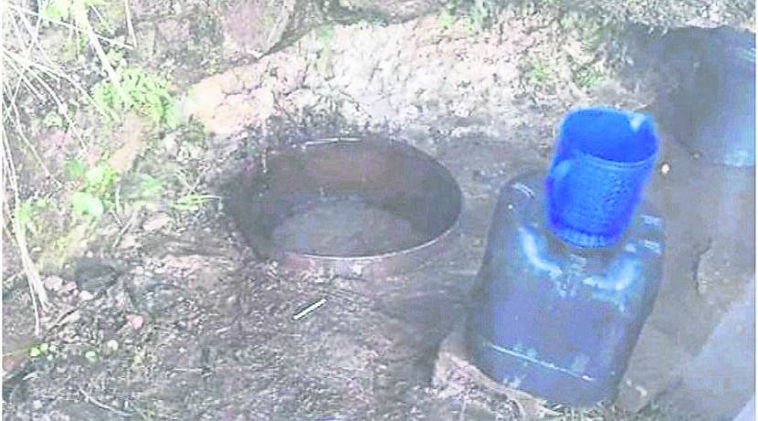 Fountain where Tafuleni residents gets water.PHOTOS: file