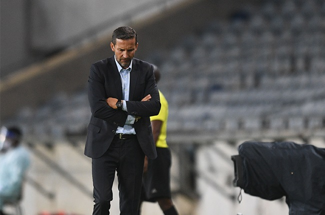 Josef Zinnbauer (Coach) of Orlando Pirates during the DStv Premiership match between Orlando Pirates and Chippa United at Orlando Stadium on December 16, 2020 in Soweto, South Africa.