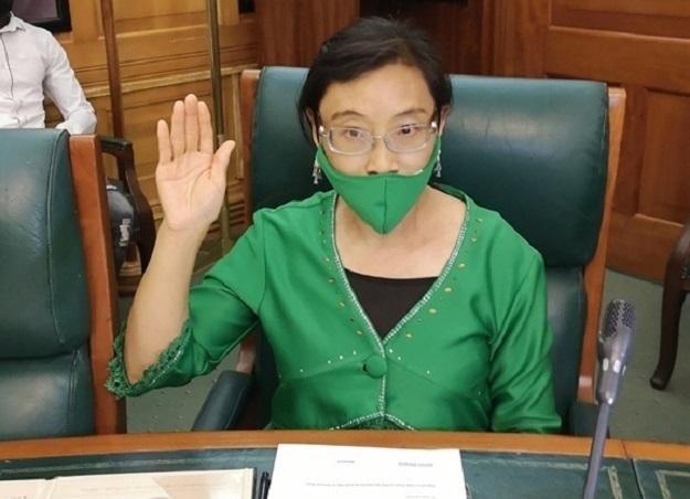 Xiaomei Havard sworn in as ANC MP on Wednesday.