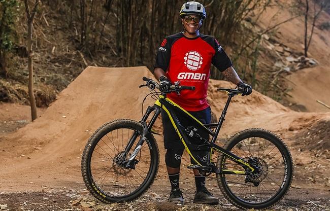 From BMX to mountain biking, this is Mpho Mojapelo's journey to enduro riding. (Photo: @dombarnardt)
