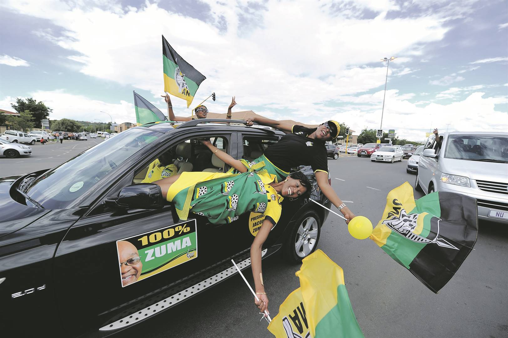 The flaunting of wealth at ANC conferences is vulgar considering the country's issues with poverty and inequality. Picture: Felix Dlangamandla / Gallo Images