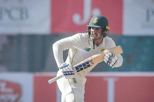 Proteas batsman Quinton de Kock (PCB)