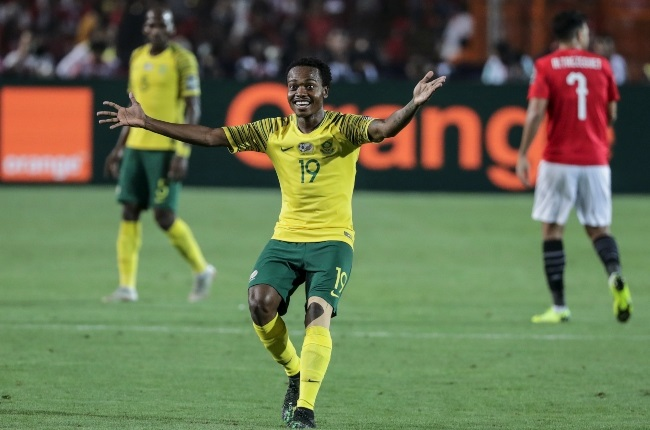 Former Bafana Bafana player Percy Tau is making a name for himself on the international soccer stage. (Photo: GALLO IMAGES/ GETTY IMAGES)