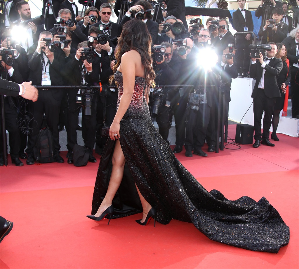 Priyanka Chopra attends the screening of Rocketman during the 72nd annual Cannes Film Festival on May 16, 2019 in Cannes, France. (Photo by Mike Marsland/ WireImage/ Getty Images