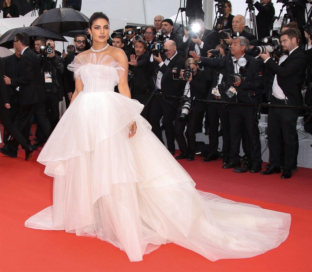 CANNES, FRANCE - MAY 18: Priyanka Chopra attends t