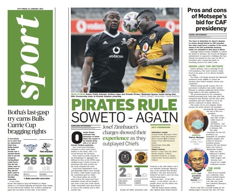 What's City Press Sport