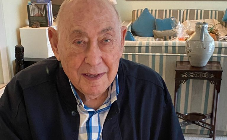 Percy Tucker on his 92nd birthday. (Photo: Supplied)