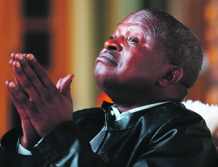 David Mabuza and his team would also be responsible for the national communication strategy to counter misinformation and encourage an uptake of the vaccines.. Picture: Masi Losi /Gallo Images / Sunday Times