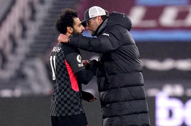 Mohamed Salah and Jurgen Klopp (Getty Images)