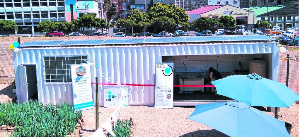 A first of its kind self-sufficient laundromat service has opened in the heart of the City Bowl. PHOTO: JOHANN Du Bois