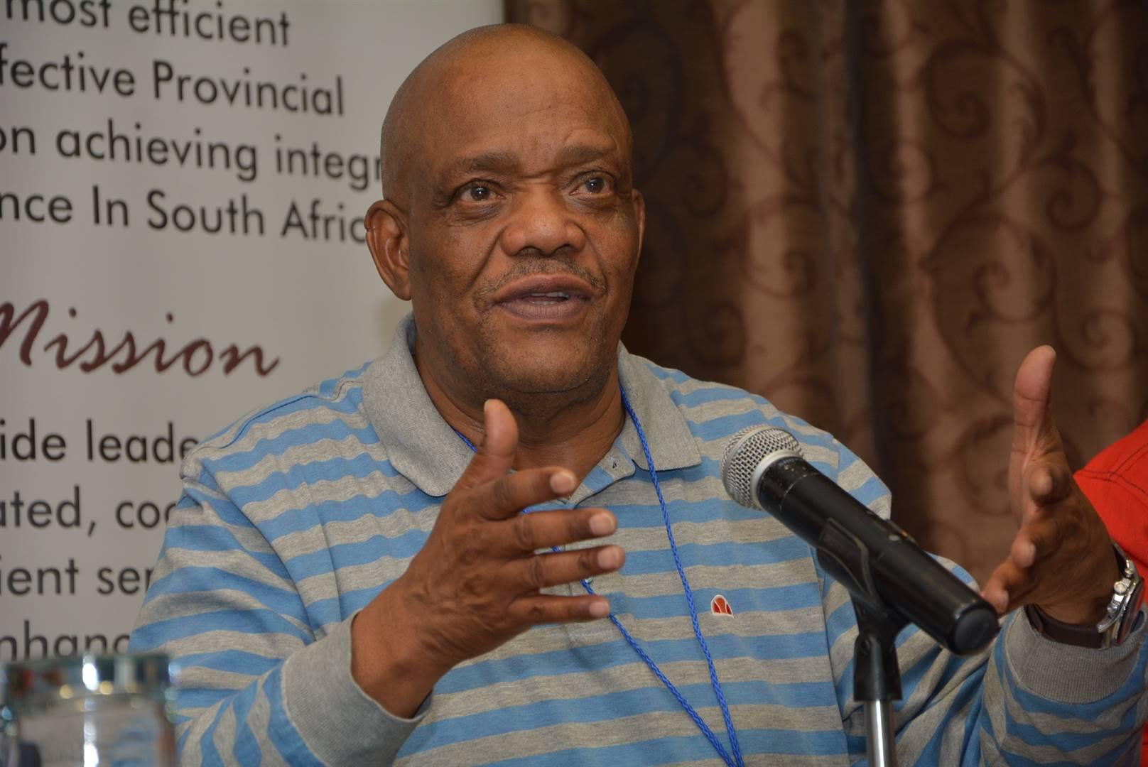 Job Mokgoro, Premier of the North West.