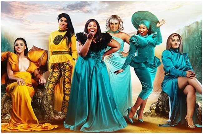 The cast of Rich Housewives of Durban.