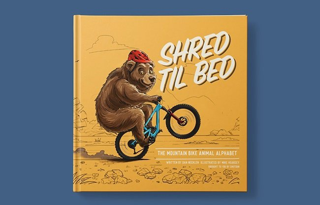 The cover of Shred Til Bed.