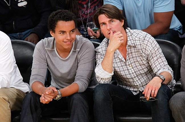 Connor and Tom Cruise