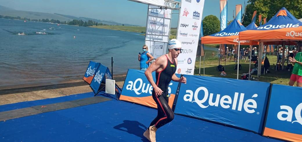 Michael McGlynn won the Midmar Mile for the second time in a row on Sunday.PHOTO: SITHEMBISO DINDI