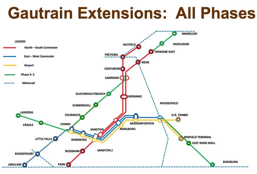 Gautrain expansion