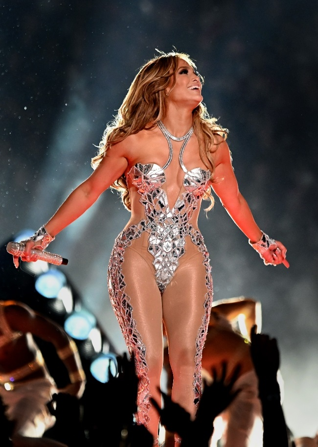 JLo slinky outfits caused a stir with viewers who