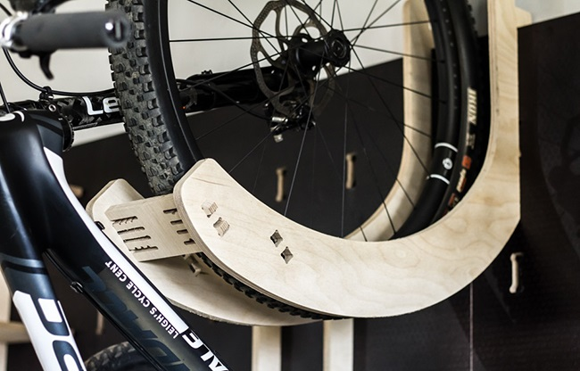 Bikes look best riding, but there is no reason why they shouldn't look good in stowage, either. (Photo: Wallock)