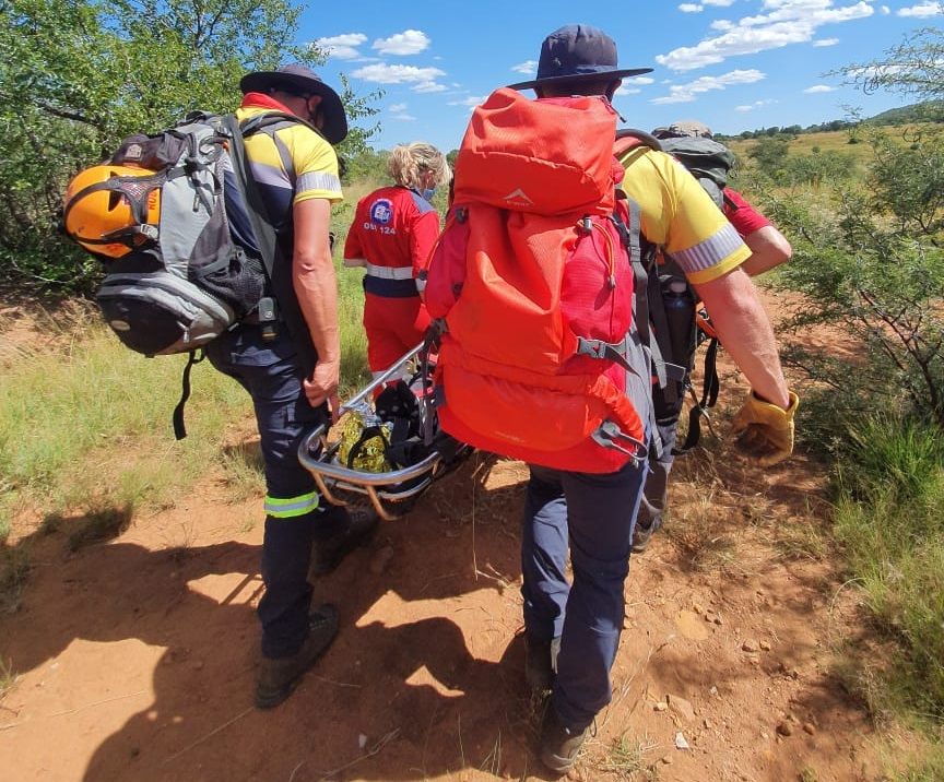 A woman has been rescued from the Klipriviersberg Nature Reserve.