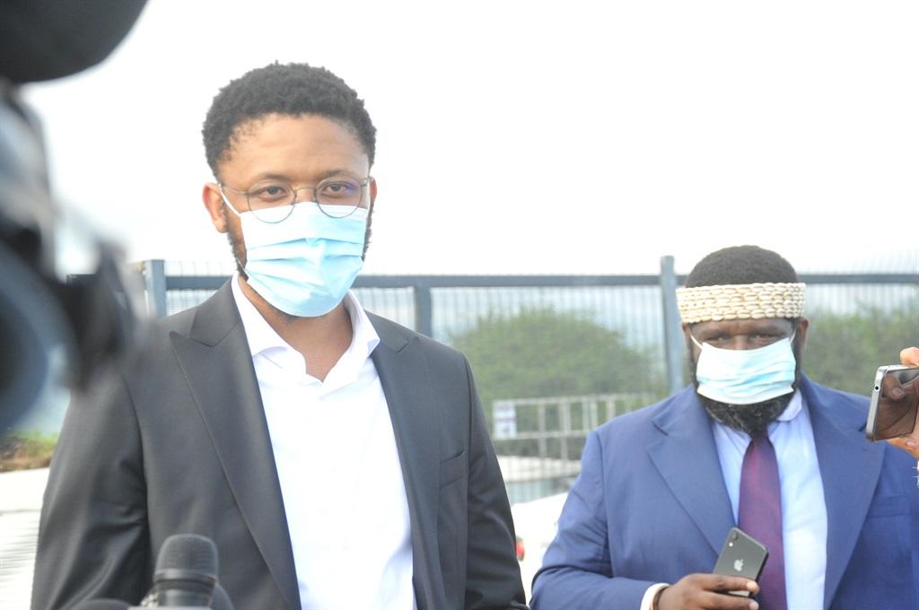 Vuyani Pambo and Vukile Mathabela