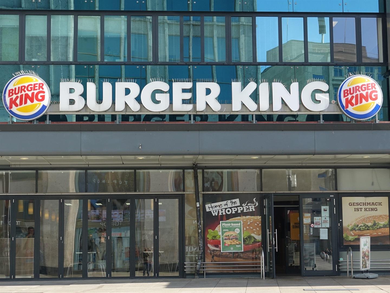 A Burger King restaurant in Berlin.