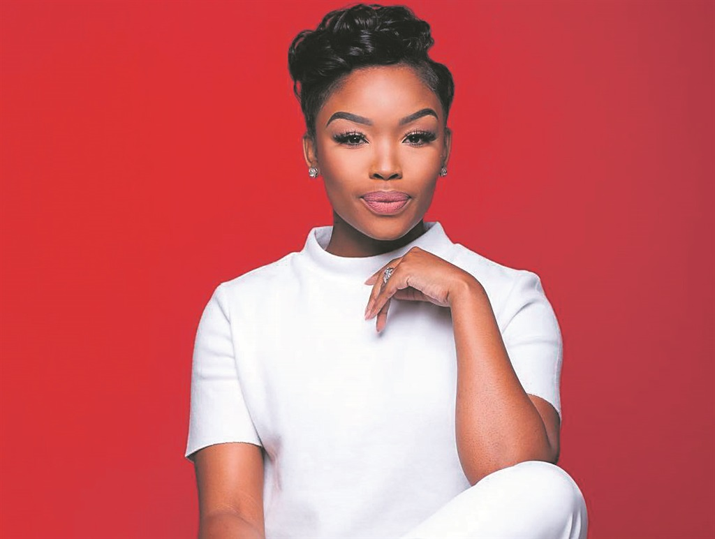 Actress Zinhle Mabena. Picture: Supplied