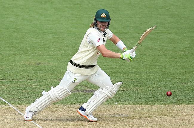 Australia's Will Pucovski bats against India at Sydney Cricket Ground on 7 January 2021.
