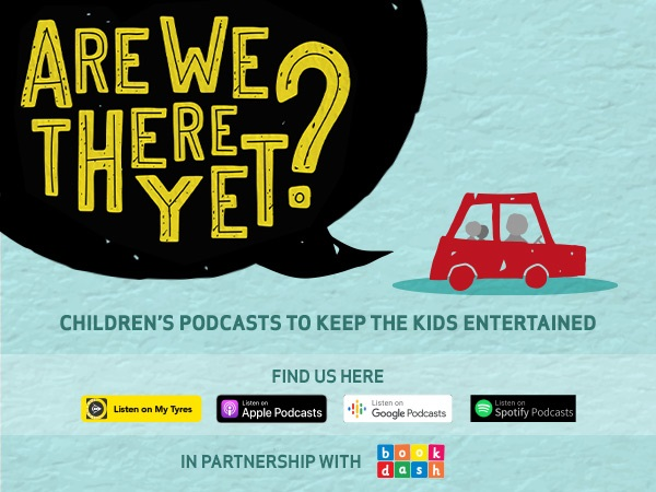 """Dunlop has brought out new episodes on the multilingual """"Are We There Yet"""" children's podcast to help parents keep little ones engaged, stimulated and occupied. Photo: Supplied by Dunlop and Book Dash."""