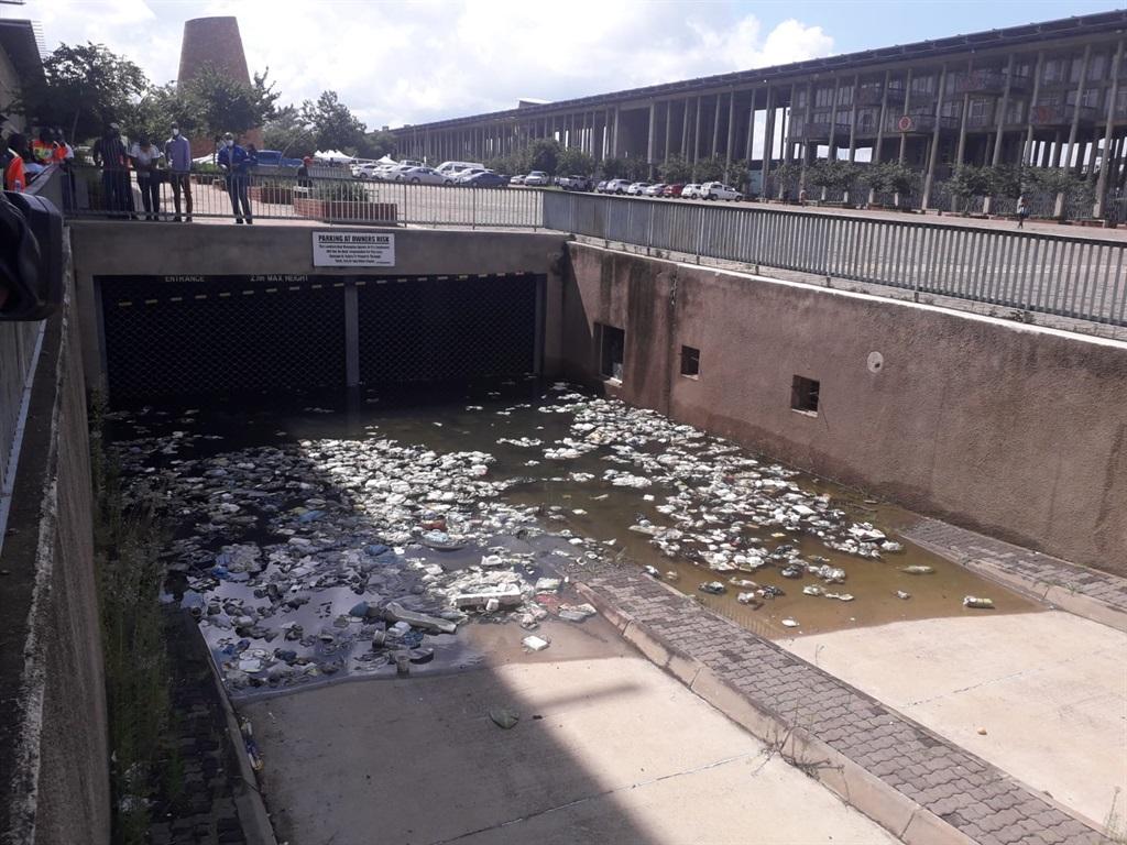 Soweto Hotel underground parking