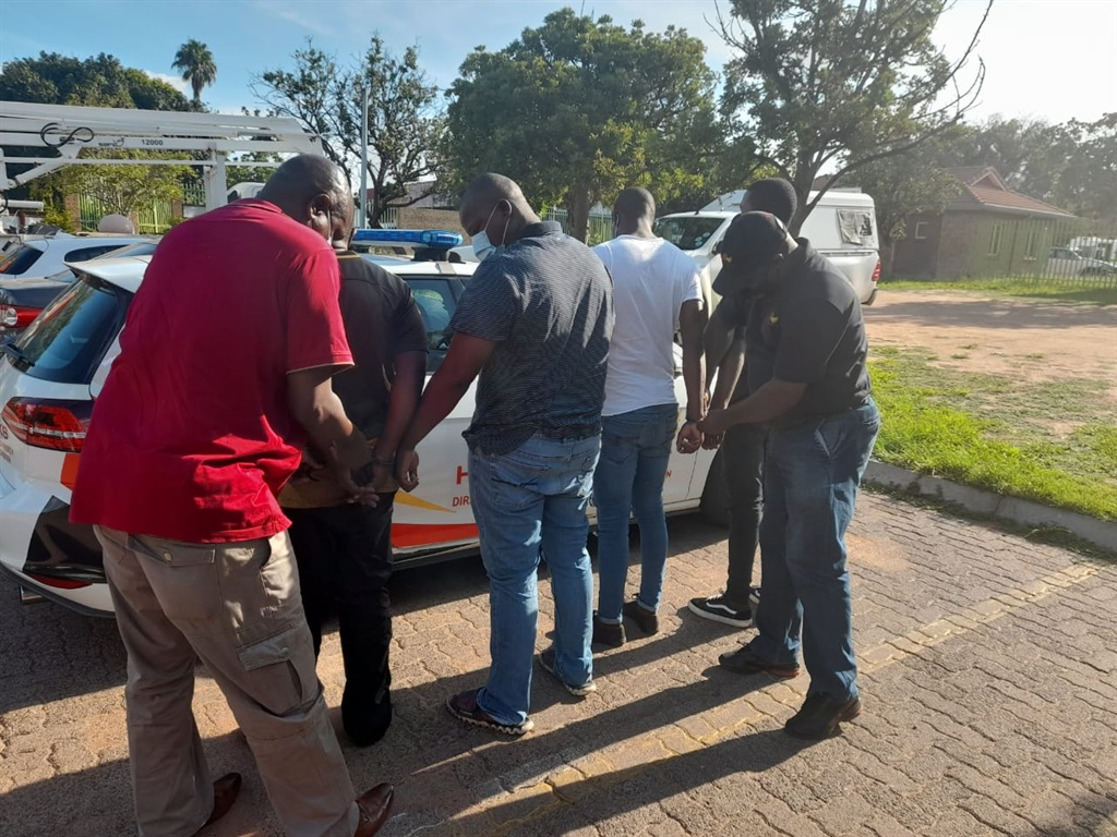 Four suspects arrested by the Hawks in Groblersdal in connection with fuel cards fraud.