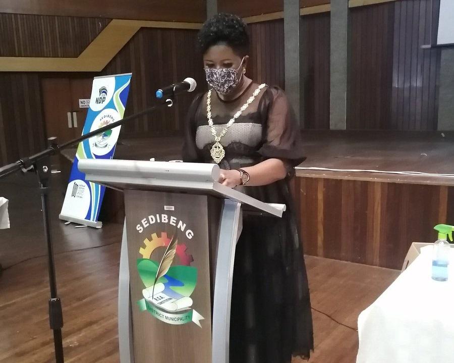 Newly-appointed Executive Mayor of Sedibeng District Municipality Lerato Maloka