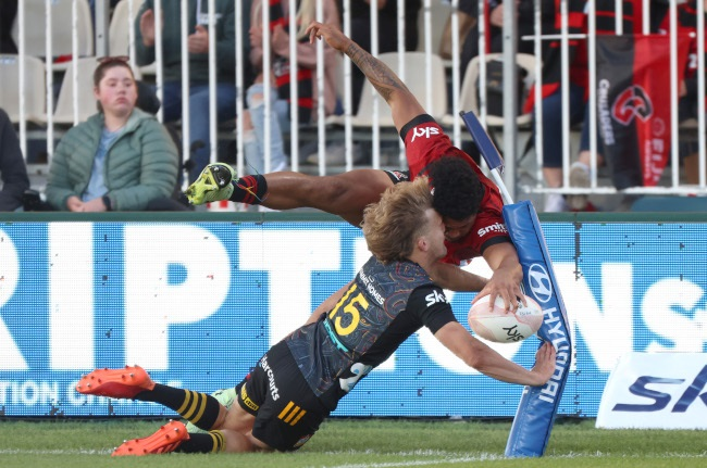 Leicester Fainga'anuku (Photo by Peter Meecham/Getty Images)