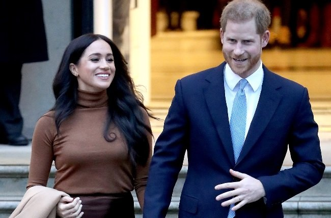 Meghan Markle and Prince Harry – pictured here in London on 7 January 2020 – have kicked off their 2021 work engagements with a poetry session. (Photo: Gallo Images/Getty Images)