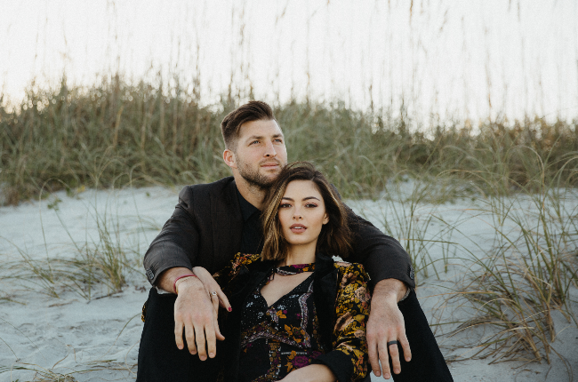 Demi-Leigh Tebow and her baseball player hubby, Tim Tebow, celebrated their first wedding anniversary in January (Photo: Supplied/Hannah Janoe)