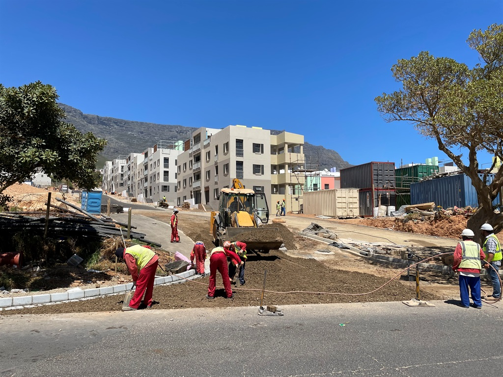 Phase 3 redevelopment of District Six in Hanover Street