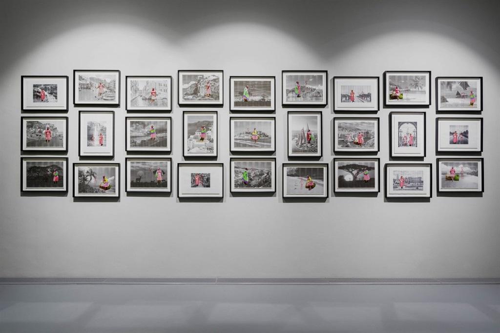 In one body of work, artist Senzeni Marasela's al