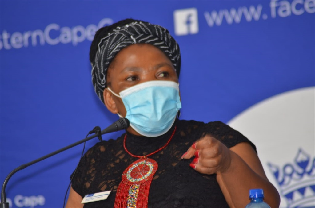 The MEC of Health in the Western Cape Nomafrench Mbombo said more healthcare workers died during the second wave of Covid-19 in December. Photo: Lulekwa Mbadamane.