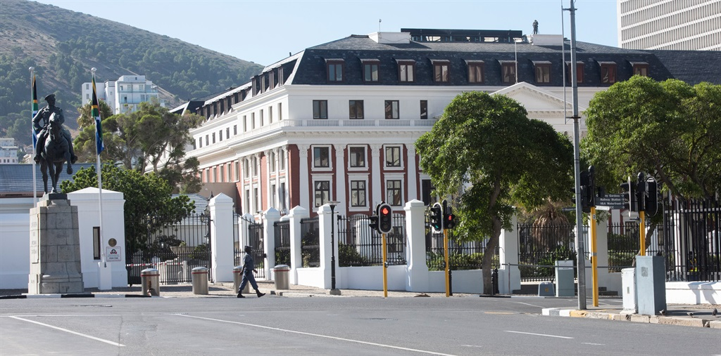 A fire broke out at Parliament's Old Assembly building on Tuesday night.