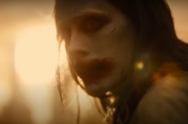 Jared Leto in Zack Snyder's Justice League.
