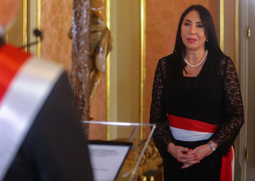 Former Foreign Minister Elizabeth Astete presented her resignation on 14 February, 2021 amid a political scandal after the complaint that former President Martin Vizcarra and other government high ranking authorities were vaccinated against Covid-19 months before immunisation started in the country.