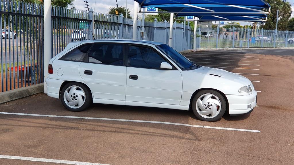 Steven Bloy's Opel Kadett tS. Image: Steven Bloy