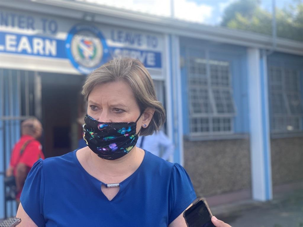 Education MEC Debbie Schafer is concerned about school vandalism.