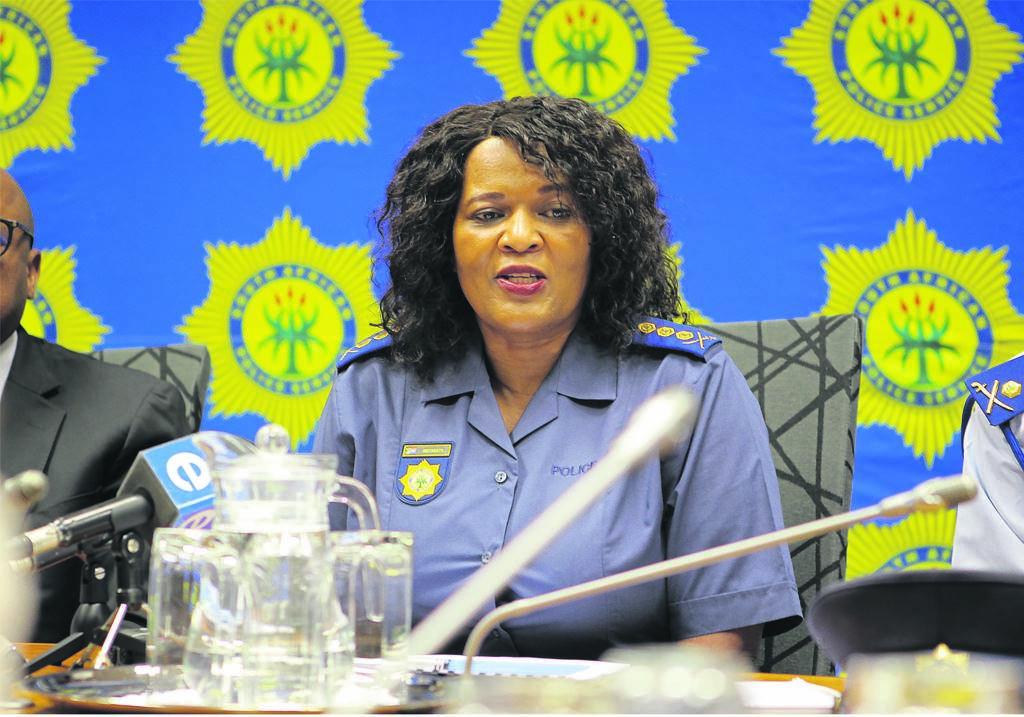 Lieutenant-General Yolisa Mokgabudi, the acting head of CI.