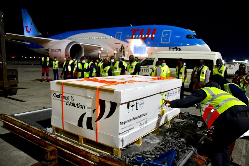 South Africa has received the first delivery of th