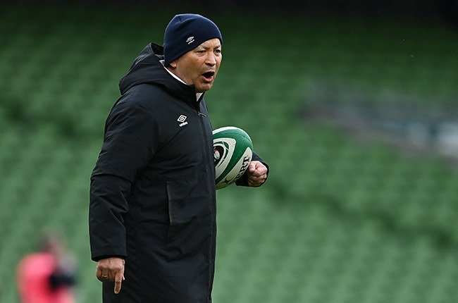 England coach Eddie Jones. (Photo by Brendan Moran/Sportsfile via Getty Images)