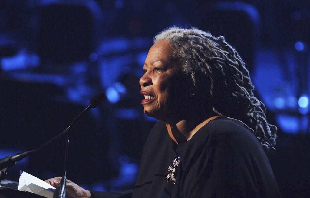 NEW YORK - SEPTEMBER 17: Toni Morrison performs at