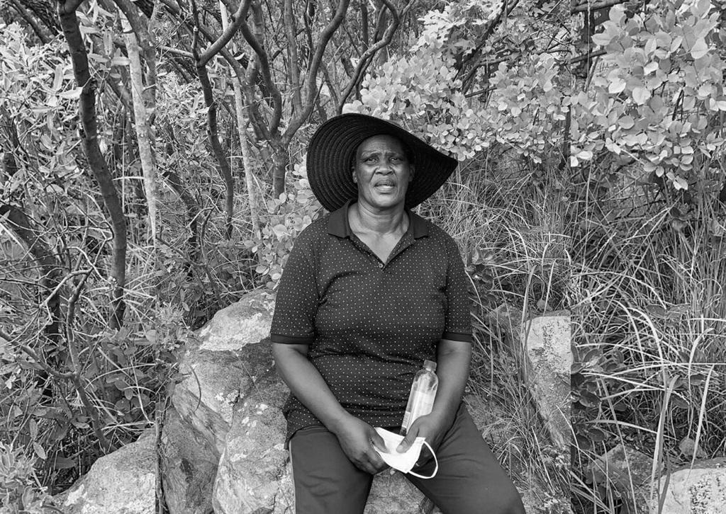 Esinako Ndabeni's grandmother, Evelyn. (Supplied)