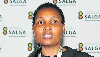 Salga president Councillor Thembi Nkadimeng.